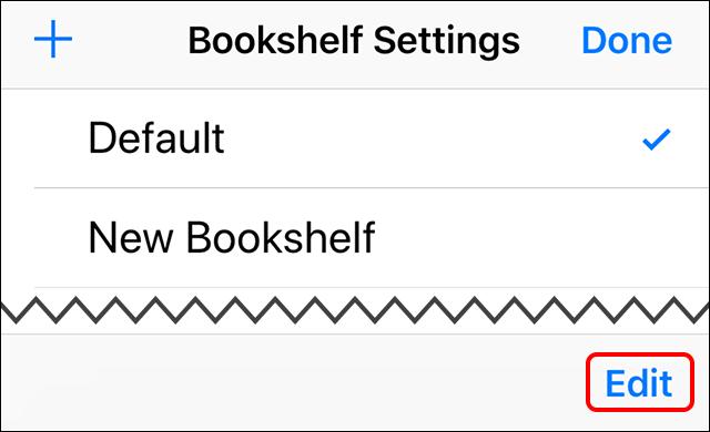 bookshelf setting