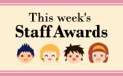 This Week's Staff Award