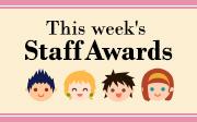 This Week's Staff Award