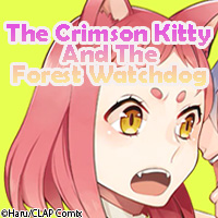 The Crimson Kitty And The Forest Watchdog �mVertiComix�n