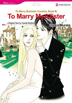 To Marry McAllister Bachelor Cousins III